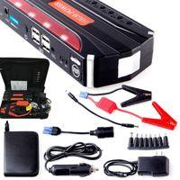 Wholesale 68800mah V Car Jump Starter Emergency USB Power Bank Battery Charger For Petrol Diesel Car A Peak Current SOS