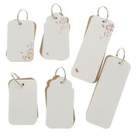 Grossiste-Nouveauté Multifonctions Bricolage Fleurs Bookmark Vocabulary Card Bloc-notes Scrapbooking Papier Tags Artisanat Décoration Maison Cartes postales