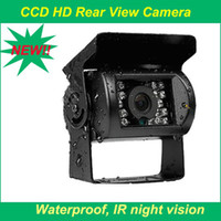 Wholesale wide angle IR Nightvision Waterproof Car Rear View Camera Cmos Bus Truck Camera For Bus Truck Parking HD Camera