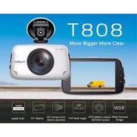 Wholesale Original Novatek NTK96650 Car DVR Camera OnCam T808 Dash Camera Full HD P Car Camcorder Inch Degree G Sensor With