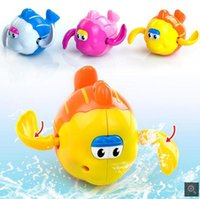 Wholesale Children playing in the water toys baby bath toys beach winding baby bath swimming small fish toys