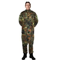 Wholesale Highest quality Tactical Uniform Jacket Sets And Army Pants Multi Cam ACU Woodland FG Camouflage Tops Bottoms sets