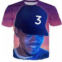 Men acid t shirts - Newest Fashion Womens mens New Chance The Acid Rapper Funny D Print Casual T Shirts XTX023