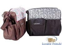 Wholesale US Brand Luvable Friends Diaper Bag Baby Nursery Bag Multifunctional Bag Mother Storage Wholesales