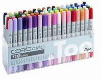 Wholesale The Third generation copic ciao marker pens COPIC Copic Ciao Sketch pen comic Hand painted art painting pens A colors gift pen bags