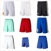 american thailand - Thailand National Team Shorts Italy Swede Spain Brazil Belgium Mexico American Portugal Franced England German Soccer Shorts Pants