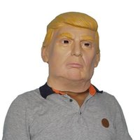 Wholesale USA President Candidate Mr Trump Latex mask Halloween Mask Latex Face Mask Billionaire Presidential Donald Trump Latex Mask