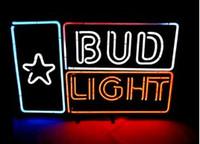 Cheap Blue Bud Light Neon Light Best Residential 1-2 years BUD LIGHT Neon Sign