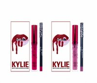 Wholesale Kylie jenner Comestics LIP KIT Kylie Lip VALENTINE HEAD OVER HEELS Liquid Matte Lipstick Makeup Lip Gloss Make Up