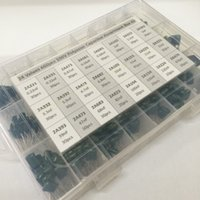 assorted storage boxes - Value capacitor kit V A221J to A474J Polyester Film capacitor Assorted Kit with storage box
