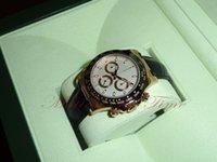 achat en gros de chronographe mécanique d'or-Montres de luxe montres hommes montres de mode en gros Gold Ceramic Rose Gold Chronograph REF # 116515 montre homme mécanique Montre-bracelet automatique