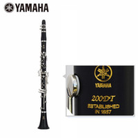 Wholesale YCL DT key drop B Clarinet Silver plated B Flat Clarinet Black Body Silver Key Clarinet With Case Two Pairs Of Main Export