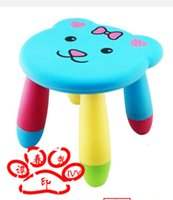 Wholesale Small cartoon baby chairs removable kindergarten children chair bench fishing stool chair stool children eat stool