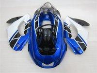 3 cadeau Nouveaux kits chauds de carénage de moto d'ABS 100% Fit Pour YAMAHA YZF 1000RR YZF-1000RR 1996-2007 YZF1000RR Bleu Blanc Noir