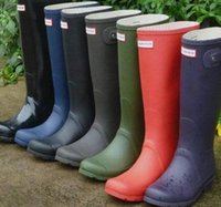Wholesale New Arrival Boots Women Wellies Rainboots Ms Glossy Wellington Rain Boots Wellington Knee Boots Fast Delivery