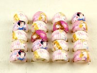 Wholesale Mix New Party Gift Bag Fit Snow White Round Kid Resin Rings Children Lovely Present