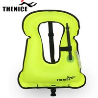 Wholesale Quick Inflatable life jacket life vest Snorkeling dive swimming suit Equipment for Adult Kids with EU CE security certificate