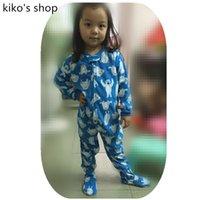 baby zipper pajamas - 2 Y baby Boys or girls warm pajamas Children s Spring and autumn and winter pajamas simple zipper Protection navel cold Pyjamas