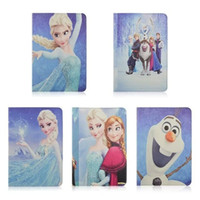 agptek tablet - inch Universal Tablet Elsa Cartoon Case For AGPtek Kids Abot For Huawei MediaPad T1 Tablet case PU Leather