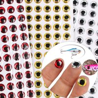 Wholesale Anmuka New Arrival D Fishing lure eyes fly eyes size mm mm colors Bait accessories