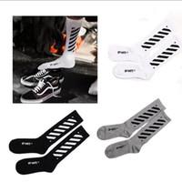 Wholesale Pairs Off White Men s Black White Stockings Opening Men s Sphort Sockings Opening Men s Sports Socks Casual Socks