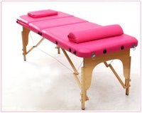 Wholesale Portable Massage Table for Beauty Industry Health and Beauty Equipment Folding Massage Table