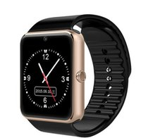 Wholesale GT08 Bluetooth Smart Watch with SIM Card Slot and NFC Health Watchs for Android Samsung and IOS Apple iphone Smartphone