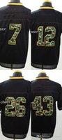 camo football jerseys - Men s PS roethlisberser bradshaw bell polamalu Black Elite Camo Fashion Football Jerseys High Quality