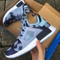 baby boot camp - With Box Discount Hot Sale NMD XR1 Men And Women Black White PINK Friday Duck Camo olive Baby Kids Children Sport Running Shoes Size
