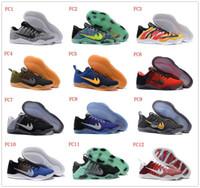 al por mayor rosa teje-Zapatos de baloncesto bajos Kobe 11 XI Zapatos de tenis de Bryant Kobe 11 Elite Zapatos de tenis deportivos de KB XI Retro Weaving Zapatos Kobe 43Colors