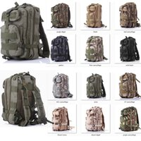 Backpacks Men Sport Retai l&Wholesale nylon 30L Outdoor Sport Military Tactical Backpack Rucksacks Camping Hiking Trekking Bag free shipping ELB108