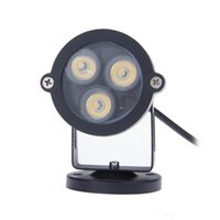 Wholesale W Led Garden Light Outdoor Decorative Lawn lamps AC DC V IP65 Waterproof Path Yard Floodlight Spot light Base Holder