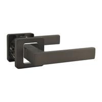 Wholesale R0715TBCP Door Grip Door Lever Door Handle Black Nickel Chrome Alloy