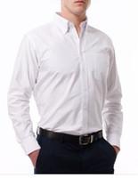 dress shirt for men - 2016 New High Quality Striped Shirt Men Cotton Fabric Breathable Formal Shirt for Men Dress Shirt Long Sleeve Plus Size