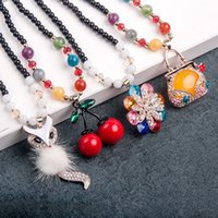 Wholesale New south Korean beauty fashion sweaters hang act the role ofing is tasted deserve to act the role of women s pendant necklace restoring anc