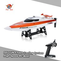 Wholesale Original FEI LUN FT009 G CH Water Cooling System Self righting km h High Speed Degree Flips Racing RC Boat