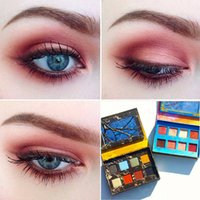 american easy - Makeup Ultra American foreign trade super beautiful Venus carton Unicorn color eye shadow DHL