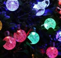 Wholesale 2016 Christmas Lights Reindeer Solar Fairy String Lights Waterproof Powered Outdoor for Garden Patio Yard Home Christmas Tree Festival Party