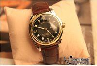 Wholesale 2016 New arrive men luxury OM mechnical watch fashion casual leather strap style TOP brand male clock men wristwatch