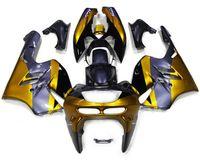 Acheter Zx 9r 94 97 carénages-Nouvelle moto ABS Kits de carénage Fitment Pour KAWASAKI Ninja ZX9R 1994 1995 1996 1997 ZX-9R 9R 94 95 96 97 Ensemble de carrosserie gris foncé