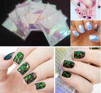 Wholesale 1pc Fashional Color Supplied Hot Sale DIY Nail Art Stickers Manicure Tips Feather Decals