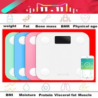 Wholesale Original yunmai mini smart weighing scale digital scale support Android4 IOS7 Bluetooth