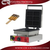 bakery equipment - High quality stainless steel electruc V equipment bakery waffle machines square shape waffle baking machine CR WMS6A
