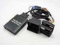 achat en gros de adaptateur quadlock-Yatour Car CD Changer la musique USB MP3 AUX adaptateur Pour Renault VDO / Blaupunkt quadlock 12pin fakra 2009 + yt-m06