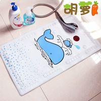 Pvc baby tubs infant - Cartoon tasteless bathroom toilet shower slip resistant pad baby infant bath tub mat mats