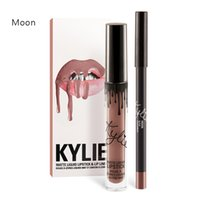 Wholesale 24 Colors In Stock Kylie Jenner Liquid Lipstick Lipgloss Matte Lip liner Lip Gloss Lip Kit Cosmetics Lips Makeup Messages to Choose Colors