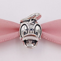 Cheap Silver pandora charms Best Flowers Silver donald duck