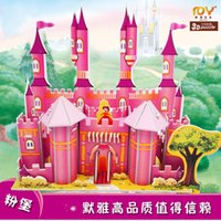 Wholesale Castle block Pirate ship toy Parent child interaction puzzle Early children s educational building