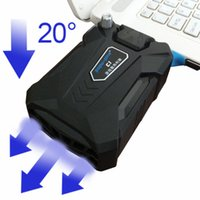 Wholesale Effective universal Laptop cooler USB Notebook Cooling fan raditator pad For PC Base Computer Cooling Pad Strengthen Edition