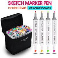 artist markers - Colors Artist Dual Head Sketch Copic Markers Set For Manga Marker School Drawing Marker Pen Design Supplies